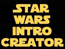 Star Wars Intro Creator